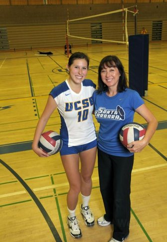 Dana and her mom, Debbie Green. (photo credit: Santa Barbara Independent)