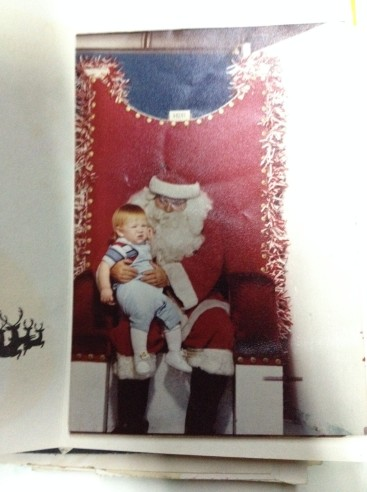 One of my first times with St. Nick.