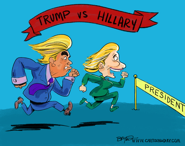 hillary-clinton-vs-donald-trump-cartoon-598